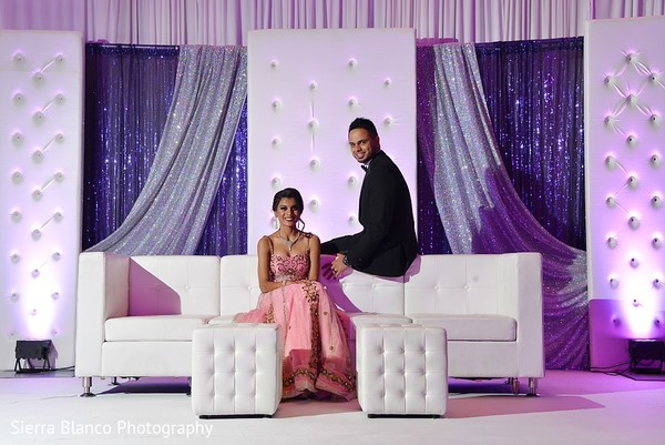 reception portraits,indian wedding reception,indian wedding reception portraits,sweetheart stage,reception decor