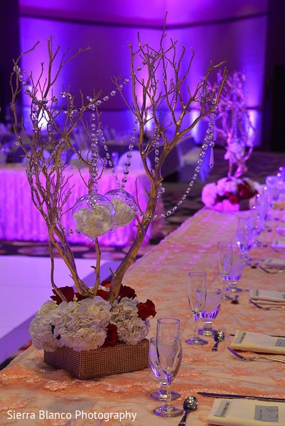 Floral & Decor in Scottsdale, AZ Indian Wedding by Sierra Blanco Photography
