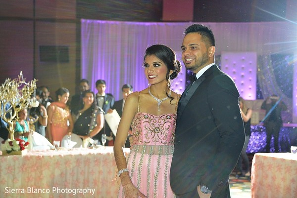 Reception in Scottsdale, AZ Indian Wedding by Sierra Blanco Photography