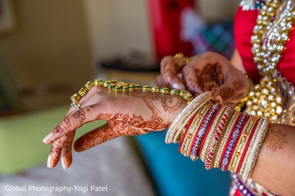 Getting Ready in Irvine, CA Indian Wedding by Global Photography