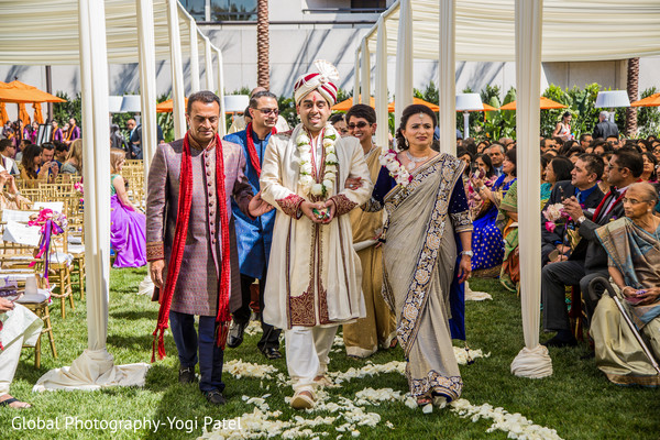 Ceremony in Irvine, CA Indian Wedding by Global Photography