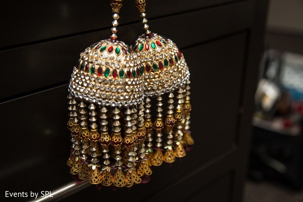 Bridal Jewelry in Atlanta, GA Indian Wedding by Events by SPL