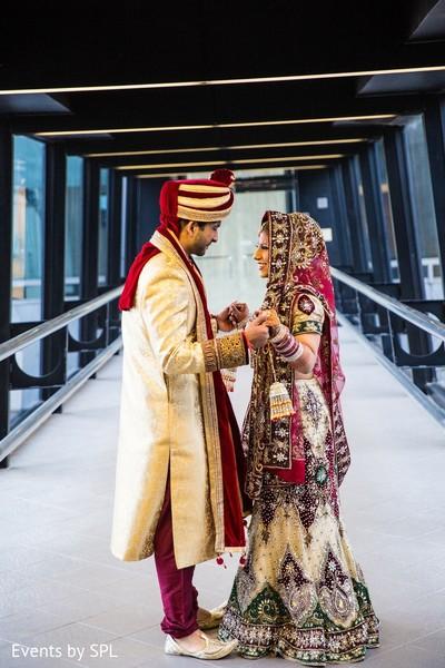 first look,first look portraits,bridal lengha,wedding lengha,lengha,lehenga,bridal fashion