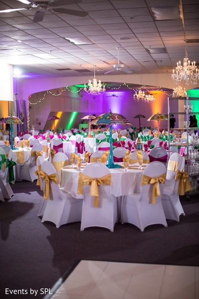 Pre-Wedding Decor in Atlanta, GA Indian Wedding by Events by SPL