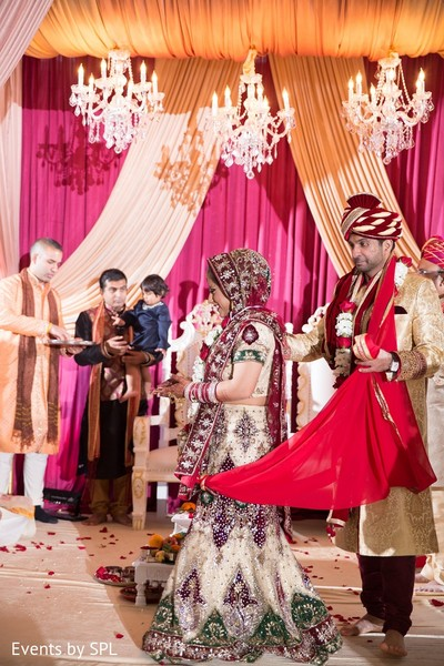 Ceremony in Atlanta, GA Indian Wedding by Events by SPL