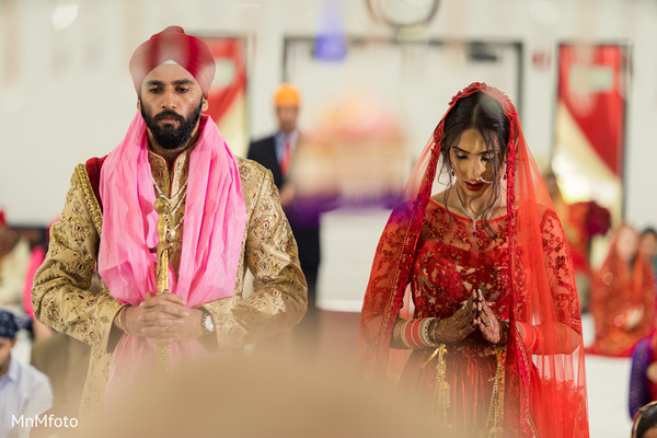 Sikh wedding ceremony in Garland, TX Indian Wedding by MnMfoto Wedding Photography