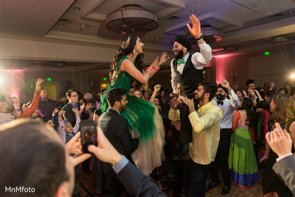 Reception in Garland, TX Indian Wedding by MnMfoto Wedding Photography