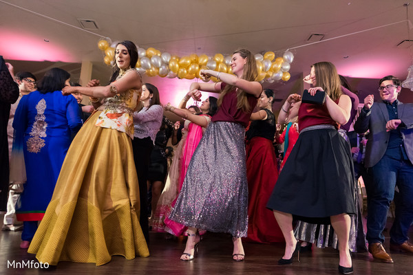 Sangeet in Garland, TX Indian Wedding by MnMfoto Wedding Photography