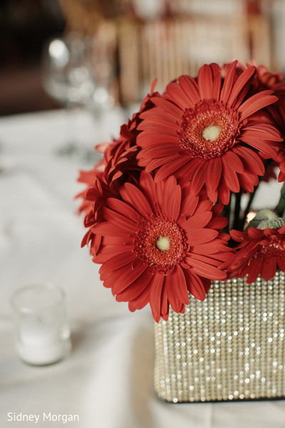 Floral & Decor in Staten Island, NY Indian Fusion Wedding by Sidney Morgan Photography