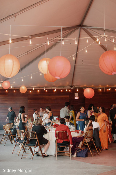 Lighting in Staten Island, NY Indian Fusion Wedding by Sidney Morgan Photography