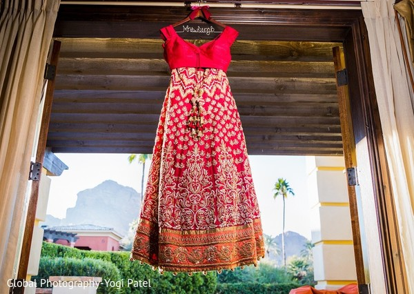 Bridal Fashion in Scottsdale, AZ Indian Wedding by Global Photography