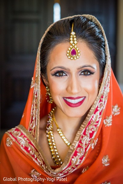 Makeup in Scottsdale, AZ Indian Wedding by Global Photography