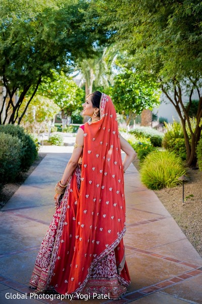 bridal fashion,dupatta
