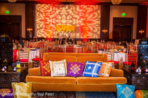 Floral & Decor in Scottsdale, AZ Indian Wedding by Global Photography