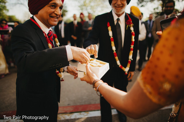 Milni in Dallas, TX Indian Wedding by Two Pair Photography