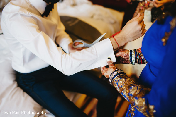 Getting ready reception in Dallas, TX Indian Wedding by Two Pair Photography