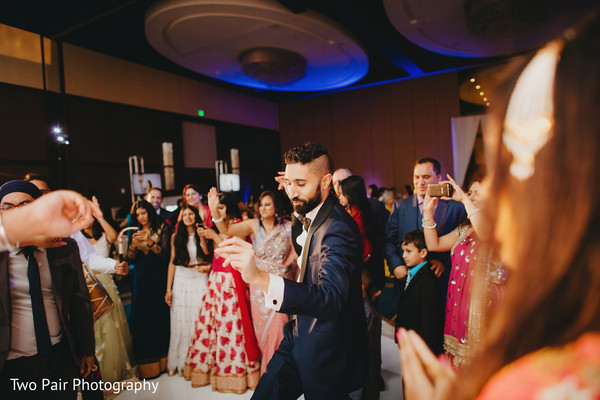 Reception in Dallas, TX Indian Wedding by Two Pair Photography