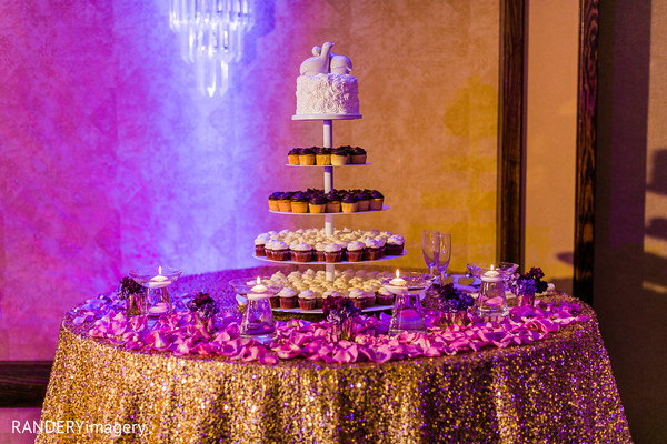 Cakes & Treats in Long Beach, CA Indian Wedding by RANDERYimagery