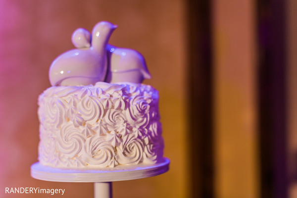 Cake Topper in Long Beach, CA Indian Wedding by RANDERYimagery