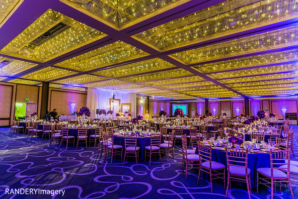 Venue & Lighting in Long Beach, CA Indian Wedding by RANDERYimagery