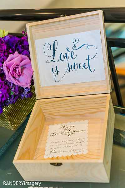 Reception Details in Long Beach, CA Indian Wedding by RANDERYimagery