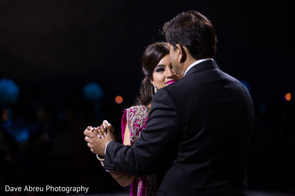 Reception in Ontario, CA Indian Wedding by Dave Abreu Photography