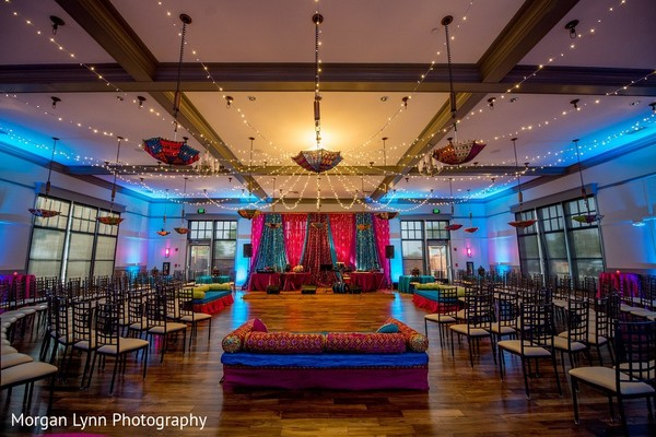 Venue & Lighting in Tulsa, OK Indian Wedding by Morgan Lynn Photography