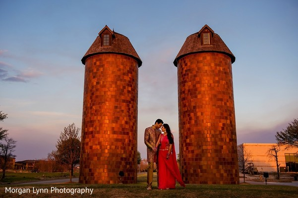 Pre-Wedding Portrait in Tulsa, OK Indian Wedding by Morgan Lynn Photography