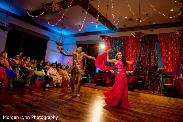 Sangeet in Tulsa, OK Indian Wedding by Morgan Lynn Photography