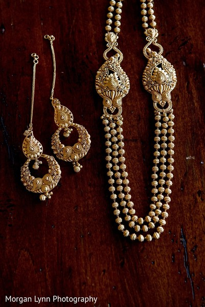 Bridal Jewelry in Tulsa, OK Indian Wedding by Morgan Lynn Photography