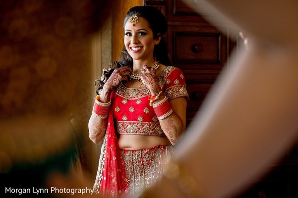 Getting Ready in Tulsa, OK Indian Wedding by Morgan Lynn Photography