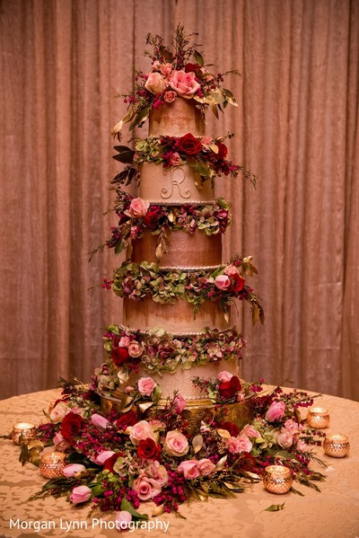 Wedding Cake in Tulsa, OK Indian Wedding by Morgan Lynn Photography