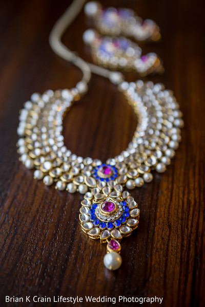 Bridal Jewelry in Memphis, TN Indian Wedding by Brian K Crain Lifestyle Wedding Photography