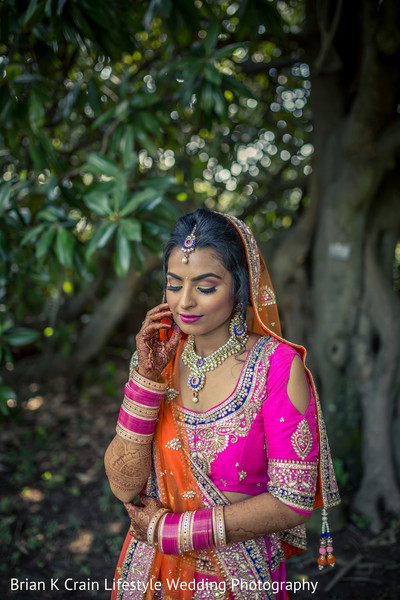 Bridal Portrait in Memphis, TN Indian Wedding by Brian K Crain Lifestyle Wedding Photography