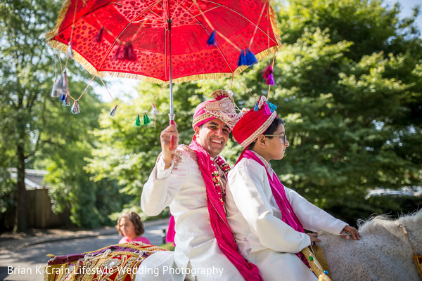 Baraat in Memphis, TN Indian Wedding by Brian K Crain Lifestyle Wedding Photography