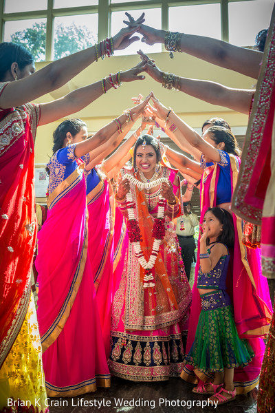 Ceremony in Memphis, TN Indian Wedding by Brian K Crain Lifestyle Wedding Photography