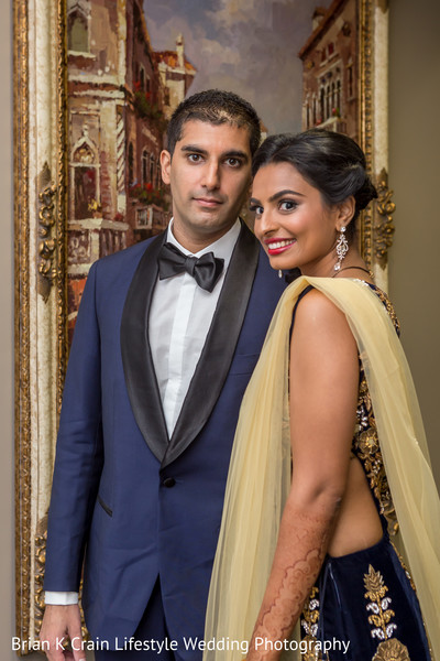 reception portrait,indian wedding reception
