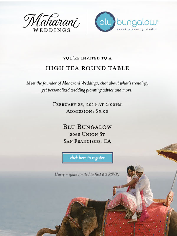 high tea round table