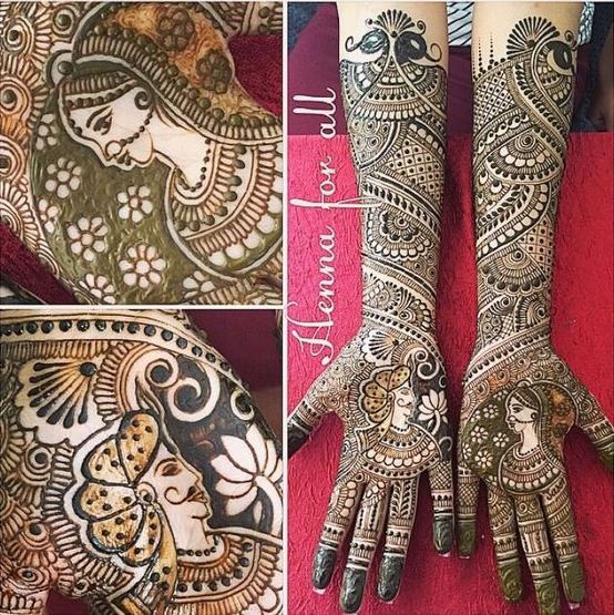 The Beauty Of Henna Art For Indian Weddings Post 10976