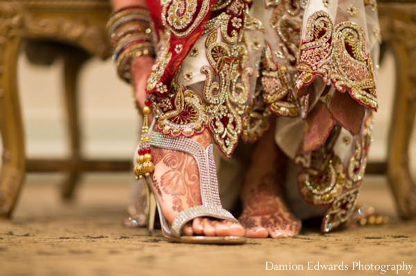bridal,fashions,Damion,Edwards,Photography,detail,photograph,of,lengha,and,bridal,shoes,indian,wedding,dresses,indian,wedding,lengha