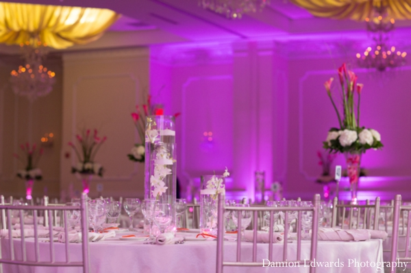Damion,Edwards,Photography,Floral,&,Decor,floral,and,decor,for,table,setting,indian,wedding,reception,inspiration,for,lighting,lighting,lighting,at,wedding,reception,Planning,&,Design,wedding,reception,lighting