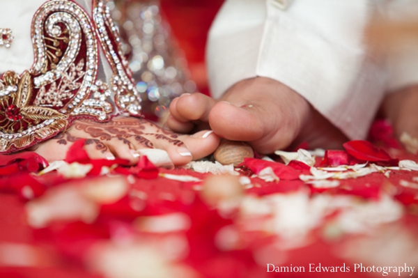 bride,and,groom,at,wedding,ceremony,ceremony,Damion,Edwards,Photography,indian,bride,and,groom,jai,mala,Planning,&,Design,traditional,customs,and,rituals,at,the,indian,wedding,traditional,indian,wedding,ceremony