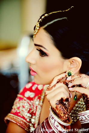 Bridal,Jewelry,indian-wedding-bride-beauty-shot-getting-ready-red