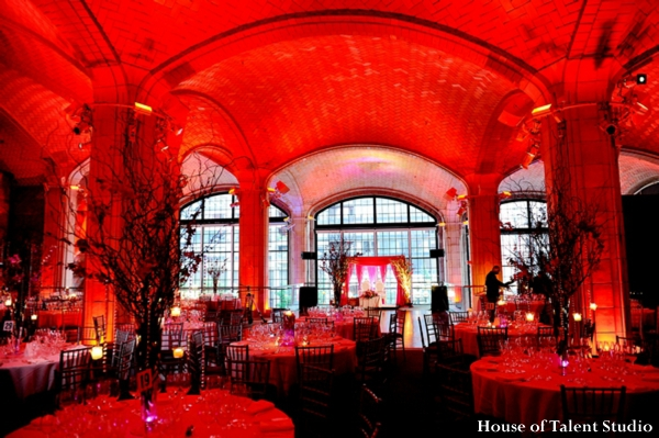 indian-wedding-reception-venue-red-lighting,Planning,&,Design