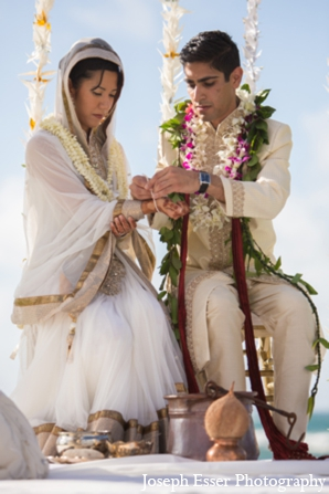 ceremony,clothing,destination,floral,hawaii,indian,indian,wedding,traditions,Joseph,Esser,Photography,outdoor,traditional,indian,wedding,wedding