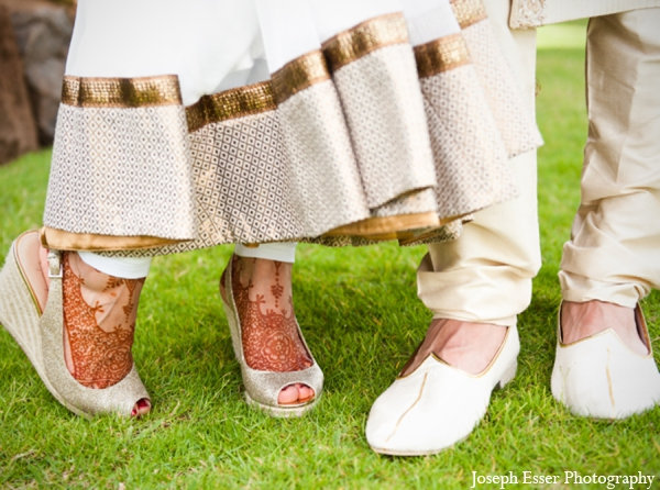 bridal,fashions,bride,ceremony,groom,indian,indian,wedding,traditions,Joseph,Esser,Photography,outdoor,shoes,traditional,indian,wedding,wedding