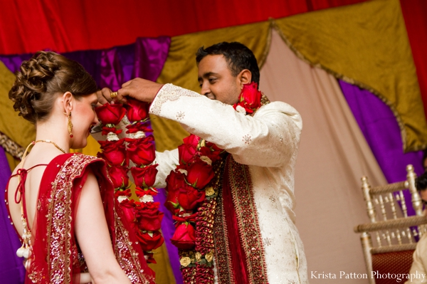 ceremony,floral,jai,mala,floral,necklaces,at,indian,wedding,fusion,indian,wedding,couple,indian,wedding,ceremony,indian,wedding,garland,of,florals,jai,malas,Krista,Patton,Photography,traditional,ceremony,traditional,customs,and,rituals,traditional,floral,jai,mala,wedding,ceremony,rituals