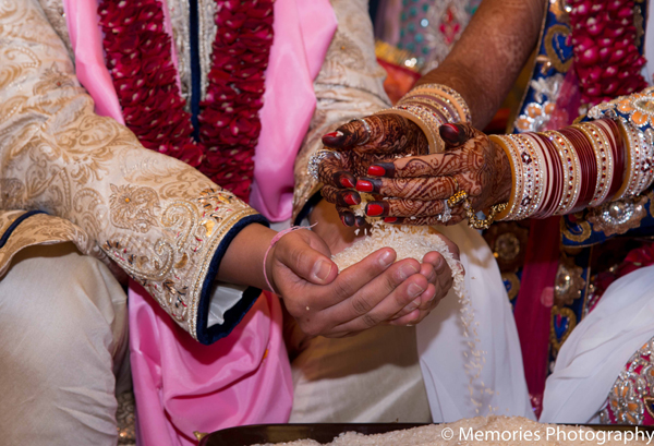 ceremony,indian,wedding,traditions,Memories,Photography,pink,traditional,indian,wedding