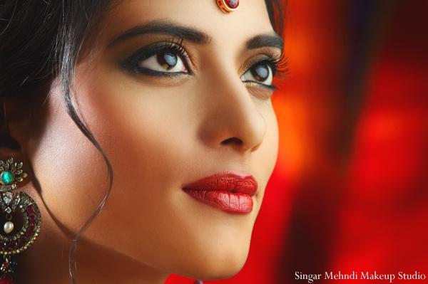 Hair and Makeup Inspiration Shoot by Singar Mehndi Makeup ...