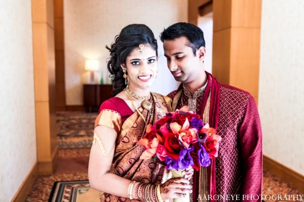 Indian wedding bridal bouquet